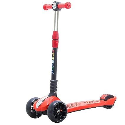 Patinetes Scooter de 4 Ruedas para niños, Lean to Steer ...
