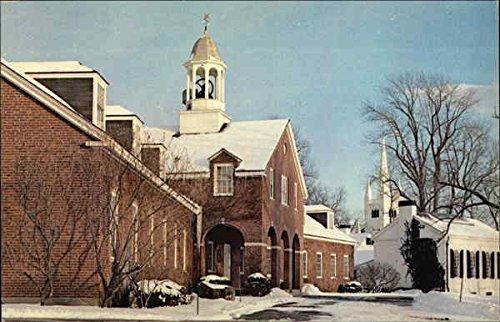 Merrimack Valley Textile Museum North Andover, Massachusetts Original Vintage Postcard
