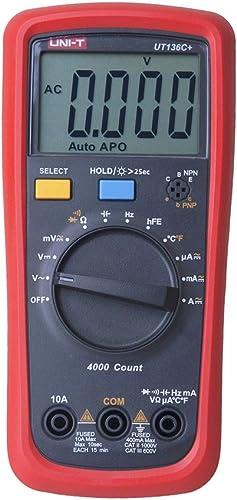 New UNI-T UT136C Auto Range Digital Multimeter AC DC Resistance Frequency Meter Tester
