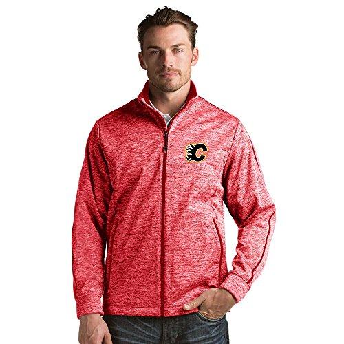 Antigua Calgary Flames Jacket (Calgary Flames Golf Jacket - Red Heather -)