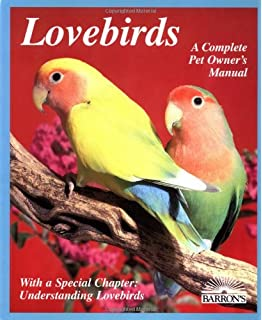 lovebirds complete pet owner s manual mary gorman 9780764130625