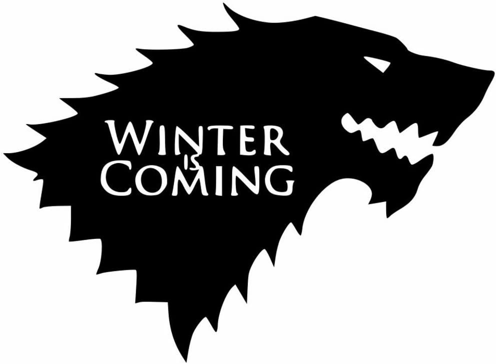 Game Of Thrones Winter is Coming Transfer Sticker Decal  Laptop Wall