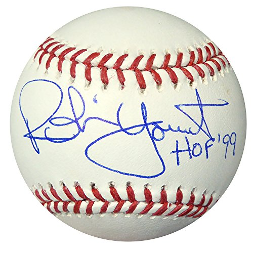 Robin Yount Autographed Official MLB Baseball Brewers