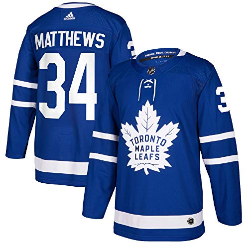 adidas Toronto Maple Leafs Auston Matthews Authentic Pro Jersey Blue (52/L)