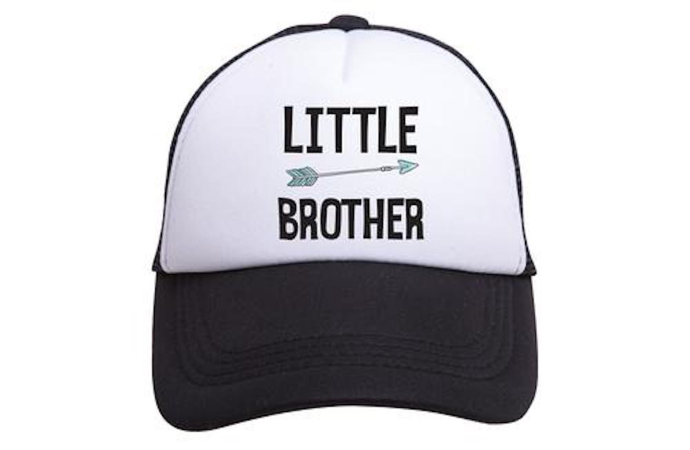 Tiny Trucker Co. Baby Little Brother Trucker Hat OP-BL0002-BW