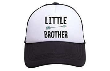 Amazon.com  Tiny Trucker Co. Baby Little Brother Trucker Hat  Baby 5858a5d8c8a