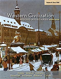 Amazon western civilization sources images and 2 western civilization beyond boundaries volume ii since 1560 fandeluxe Images