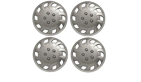 Wing Mirrors World Citroen Saxo Mercurio de 13 Pulgadas Fundas para tapacubos de plástico Plata: Amazon.es: Coche y moto