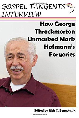 Download How George Throckmorton Unmasked Mark Hofmann's Forgeries ebook