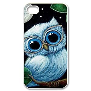 Owl Unique Fashion Printing Phone Case for Iphone 4,4S,personalized cover case ygtg527528