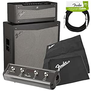 Fender Mustang V Half Stack : fender mustang v v 2 half stack amp pak w amp covers guitar cable musical ~ Russianpoet.info Haus und Dekorationen