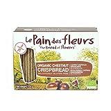 Le Pain des Fleurs - Organic Chestnut Crispbread - 125g (Case of 6)