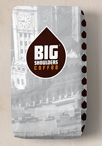 Big Shoulders Fresh-Roasted No-Nonsense Artisan Whole Bean Coffee Uganda 12 oz