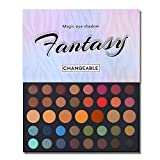 39 Colors Dare Shimmer Matte Glitter Eyeshadow Makeup Palette High Pigmented Artist Waterproof Creamy Blendable Eye Shadow Cosmetics Pallet (Color 2)