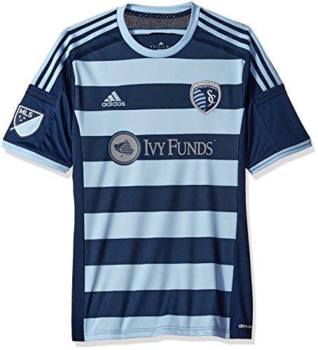 MLS Sporting Kansas City Men's Short Sleeve Replica Secondary Jersey, X-Large, Navy