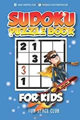 Sudoku Puzzle Books for Kids: 180 Sudoku Puzzles to Solve Kid Sudoku Easy to Hard: Volume 1 (Large Print Sudoku Puzzle Books Activities Puzzle Books for Kids) Paperback