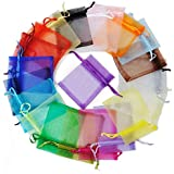 20 Clear Treat Bags 20Mix Colors for Wedding Cookie Birthday Cake Pops Gift Candy Buffet Supplies