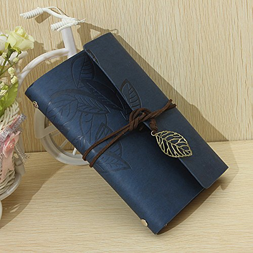 King so Vintage Leaf Faux leather Classic Note Book Journal Diary