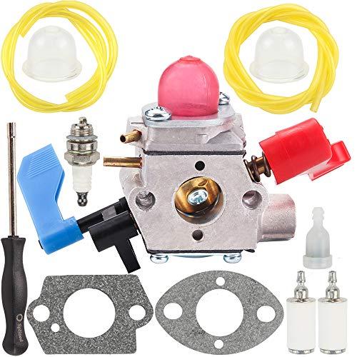 Carburetor for Craftsman Gas Blower 530071775 530071465 530071632 Walbro WT-784 Carb Gasket Fuel Line Parts ()