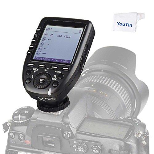 Godox Xpro-N TTL 2.4G 1/8000s HSS Wireless Flash Trigger i-TTL Transmittter for Nikon Cameras by Godox