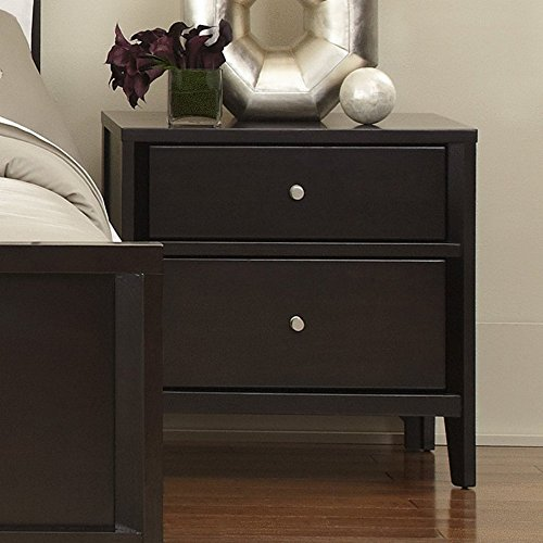 Casana Beckett 2 Drawer Nightstand - Dark (Beckett Furniture)