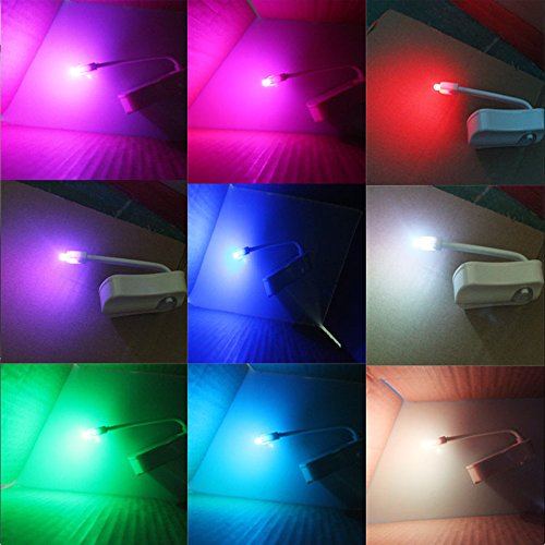 new MSY Motion Sensor LED Toilet Night Light Motion Activated Toilet 8 Colors Changing Bathroom Toilet Bowl Night Light