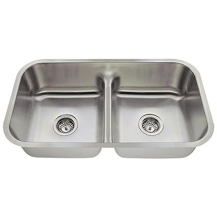 16 Gauge Undermount Kitchen Sink 512 16 gauge undermount low divide stainless steel kitchen sink 512 16 gauge undermount low divide stainless steel kitchen sink workwithnaturefo
