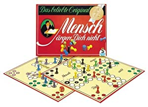 Schmidt Spiele 49021 Mensch ärgere dich nicht Klassiker für 2 bis 6 Spieler