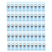 Storage Clip Housekeeping Organizers 50 PCS Clear Sewing Craft Quilt Binding Plastic Clips Clamps Pack