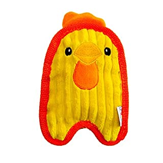 Outward Hound Invincibles Minis Chicky Squeaky Dog Toy - Tough and Durable Squeaker