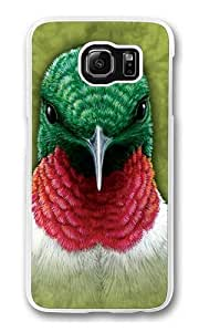 Samsung Galaxy S6 Case,Hummingbird PC case Cover for Samsung S6 and Samsung Galaxy S6 Transparent wangjiang maoyi