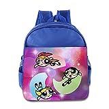 Toddler Kids The Powerpuff Girls School Backpack Cute Children School Bags RoyalBlue