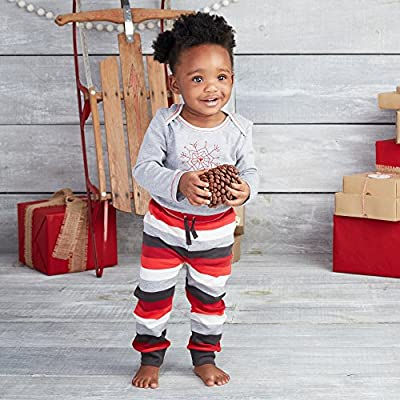 Burt's Bees Baby Organic Long Sleeve Bodysuit and Jogger Pant Set by Burt's Bees Children's Apparel that we recomend personally.