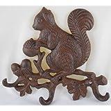 Iron Squirrel Key Rack by MGS
