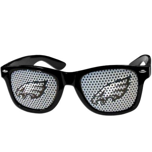 NFL Philadelphia Eagles Game Day Shades, (Eagles Black Frame Sunglasses)