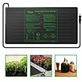 iPower Large Seedling Heat Mat 48'' x 20'' Warm Hydroponic Heating Pad with Durable Waterproof Design