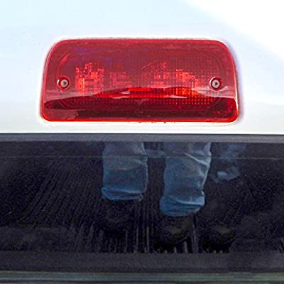 Third Brake Light Lens for 1994-2004 Compatible with Chevy GMC S10 Sonoma Regular Cab or Crew Cab Only Genuine RHA High Mount: Automotive