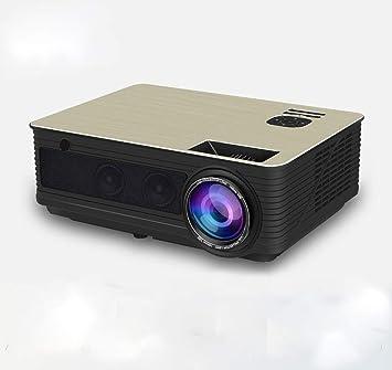CCSHW Proyector LED HD 4500 lúmenes Bluetooth WiFi Opcional TV ...