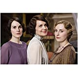Downton Abbey Elizabeth McGovern as Cora Crawley, Countess of Grantham Pretty Smile with Others 8 x 10 Inch Photo