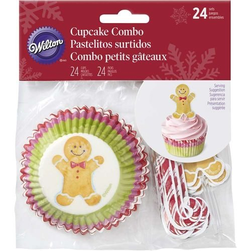 Wilton Gingerbread Boy Cupcake Decorating Kit
