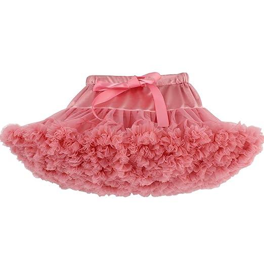 Lefuku Falda de Tutú para Bebés de Princesa Vestido de Tul de ...