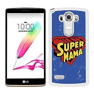 funda carcasa para LG G4 Stylus día de la madre regalo mamá mamá de primera para la vida entera borde negro