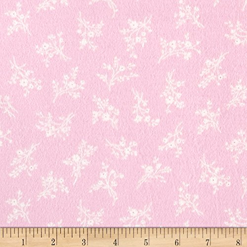 Afternoon In The Attic Flannel Cameo Blossom Rose Fabric By The (Attic Fabric)