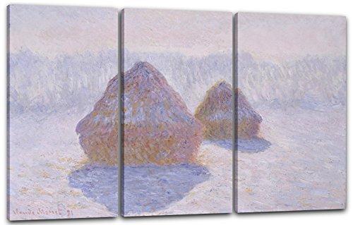 Claude Monet - Heuhaufen (Effekt von Schnee und Sonne) (1891 ...