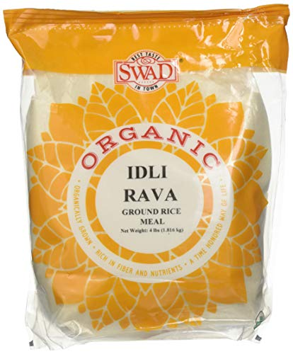 Swad Organic Idli Rava (Ground Rice Meal) - 4 lbs