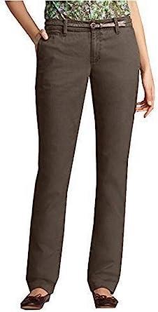 Pantalón Pantalones de algodón Mujer de Eddie Bauer: Amazon.es: Ropa y accesorios