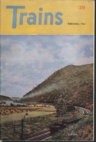 TRAINS Norfolk & Western Kodachrome Palisades Rio Grande Eastern 2-8-2 2 1946