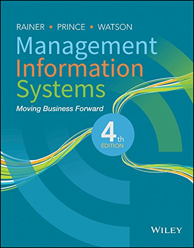 Management Information Systems: Moving Business Forward 4th edition
