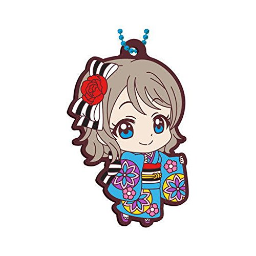 Gashapon Love Live! Sunshine!! Rubber Mascot 08 : You Watanabe (single)