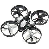 GOKOO H36 Mini Quadcopter Drone 2.4G 4CH 6Axis Headless Mode Nano Quadcopter Mode 2(Grey)